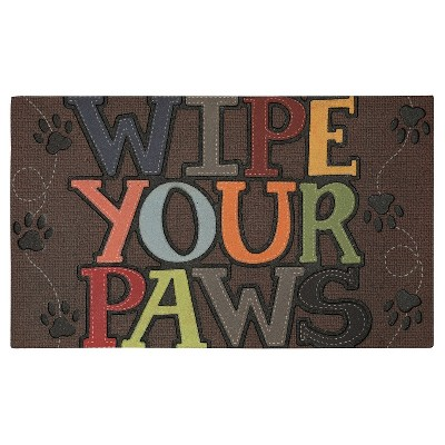 "Mohawk Wipe Your Paws Doormat - Multi-Colored (18""x30"")"