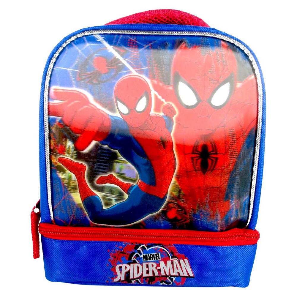 Marvel Superman 7.5 3D Depth Drop Bottom Lunch Kit - Blue