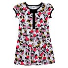 Minnie Mouse Toddler Girls' Short Sleeve Dress - White
