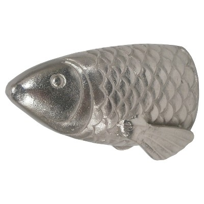 Threshold™ Metal Fish Tail Décor Figural - Silver