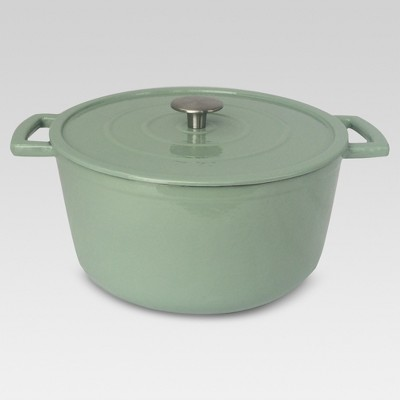 6 Quart Cast Iron Dutch Oven - Green Meadows - Threshold™