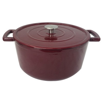6 Quart Cast Iron Dutch Oven - Madder Root - Threshold™