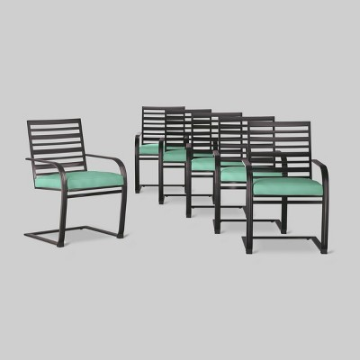 Ft. Walton 6pk Motion Dining Chairs Seafoam - Threshold™