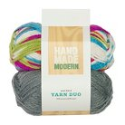 Hand Made Modern Yarn Duo, Wool Blend - 2pk