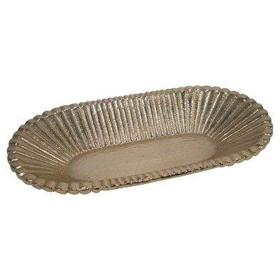 Small Sandcasted Tray Gold - Nate Berkus™