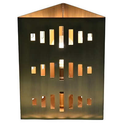 Etched Table Lamp Bronze - Nate Berkus ™