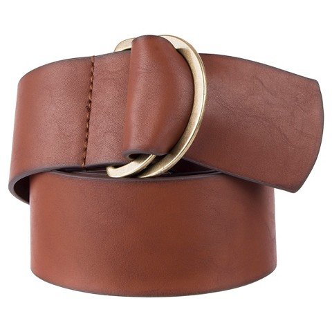 s wide brown belt with d ring merona target