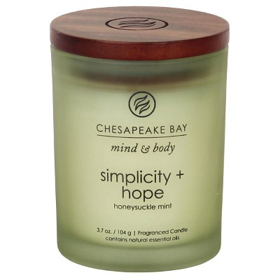 Simplicity and Hope Small Jar - Green