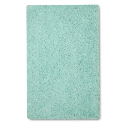 "Shag Scatter Rug - 30""x48"" - Green - Pillowfort™"