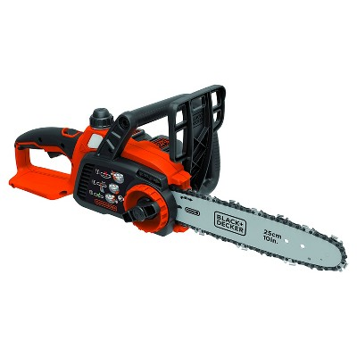 "Black+DECKER™ 20V MAX* Lithium Chainsaw with 10"" Oregon Bar and Chain and Tool Free Tensioning"