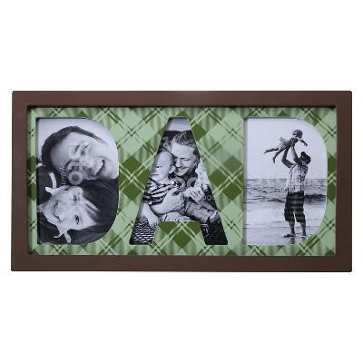 Multiple Image Frame M Green