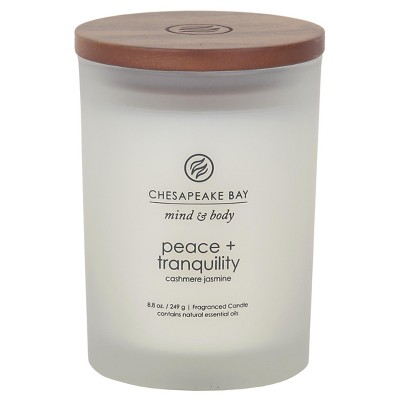 Peace and Tranquility Medium Jar - White