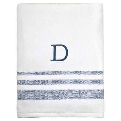 Threshold™ Monogram Bath Towel D
