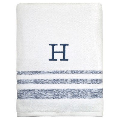 Monogram Bath Towel and Hand Towel - Threshold™