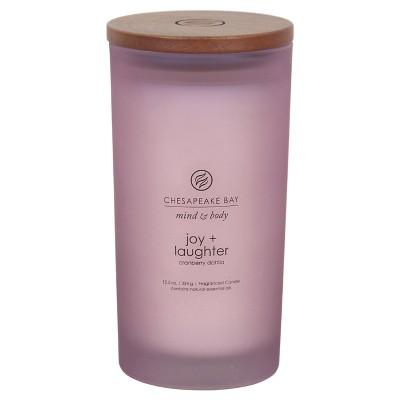 Joy and Laughter Large Jar - Purple