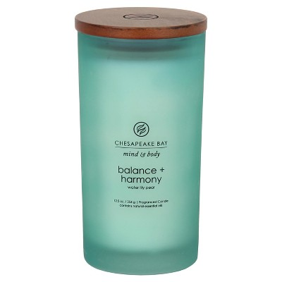 Balance and Harmony Large Jar - Aqua