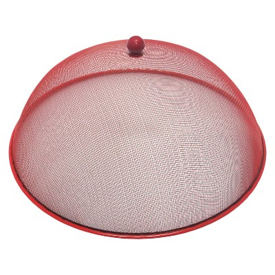 Summer Mesh Food Dome - Red