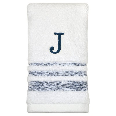 Threshold™ Monogram Fingertip Towel J