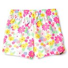 Toddler Girls' Floral Knit Short White - Circo™
