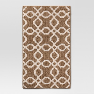 "2'6""X4' Accent Rug Tan - Threshold™"