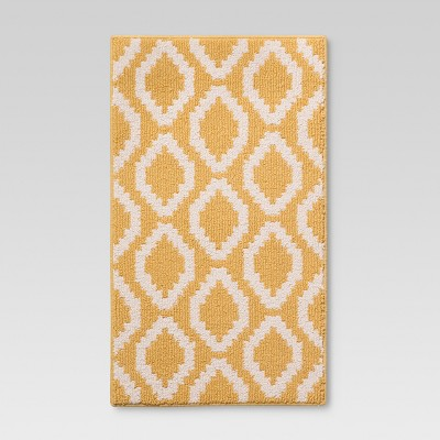 "1'8""X2'10"" Accent Rug Yellow - Threshold™"