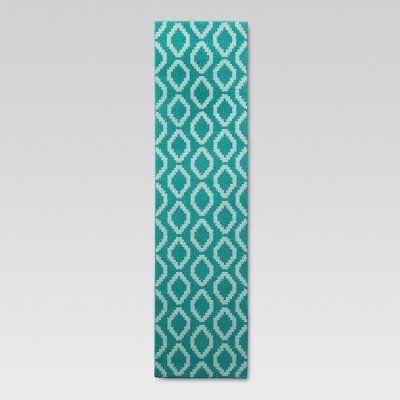 "1'10""X7' Accent Runner Turquoise - Threshold™"