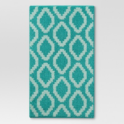 "1'8""X2'10"" Accent Runner Turquoise - Threshold™"