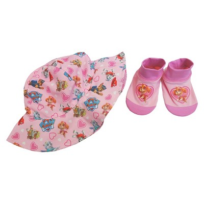 Paw Patrol Infant Girls' Swim Hat/Aqua Socks Set - Pink 0-12M