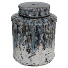 """A&B Home Terracotta Jar With Lid (10.5"""")"""