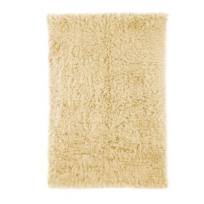 nuLOOM 100% Wool Hand Woven Genuine Greek Flokati Area Rug - Off-White (3' x 5')