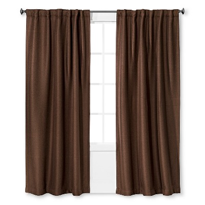 Eclipse™ Gramercy Light Blocking Window Panel Chocolate
