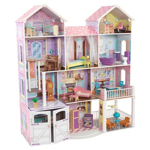 Kidkraft country estate dollhouse target for Amanda family maison