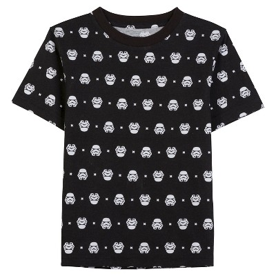 Star Wars™ Baby Boys' Stormtrooper T-Shirt - Black 12 M
