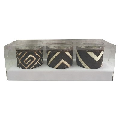 Votive Candle  Holders - Set of 3 - Nate Berkus™