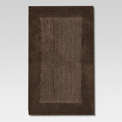 Organics Bath Rug Grey Stone - Threshold™
