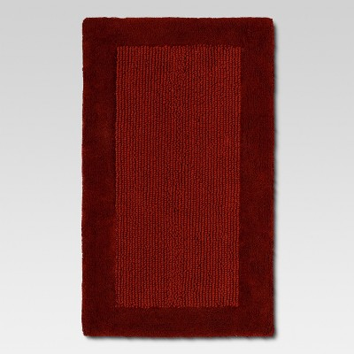Organics Bath Rug Wave Red - Threshold™