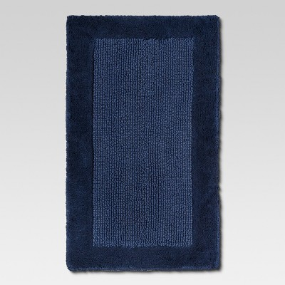 Organics Bath Rug Balanced Blue - Threshold™
