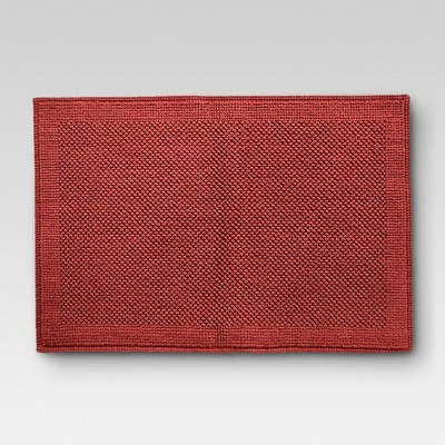 Organics Bath Mat Wave Red - Threshold™