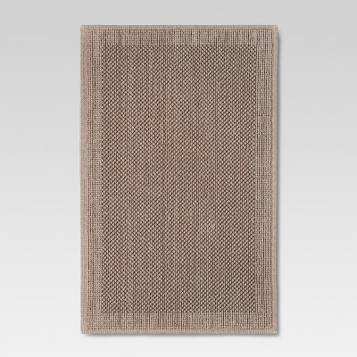 Organics Bath Mat Grey Stone - Threshold™