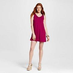 Women's V-Neck Swing T-Shirt Dress - Mossimo Supply Co.