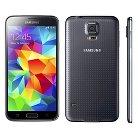 Samsung Galaxy S5 16GB Black + T-Mobile SIM Kit $40 Value + OtterBox Commuter Case 77-40119 Blue/Gray