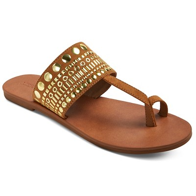 Women's Cornelia Thong Sandals - Cognac 6