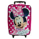 "Disney Minnie Mouse Luggage - Pink (16"")"