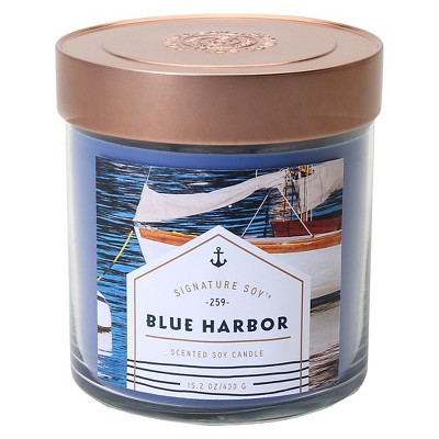 Signature Soy™ Jar Candle Blue Harbor -  15.2oz