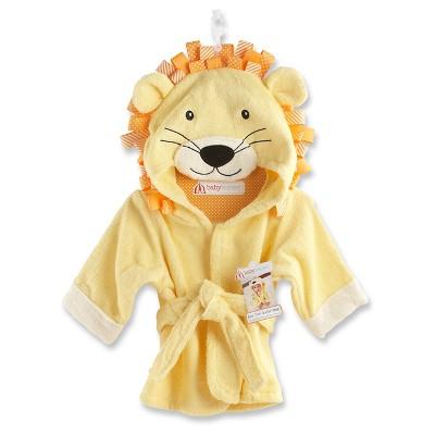 Baby Aspen Big Top Bath Time Lion Hooded Spa Robe