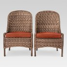 Mayhew 2pk All Weather Wicker Dining Chair - Threshold™