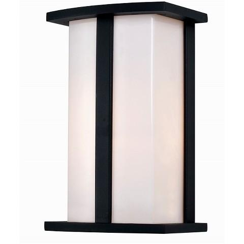 Bel Air Retro Glass Outdoor Wall Light : Target
