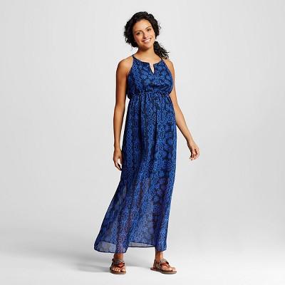 v back maxi dress target