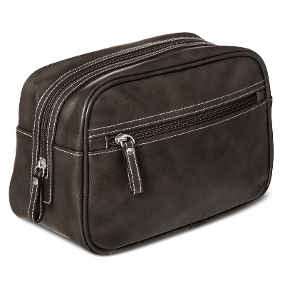 Men's Dopp Kit Charcoal One Size - Merona™