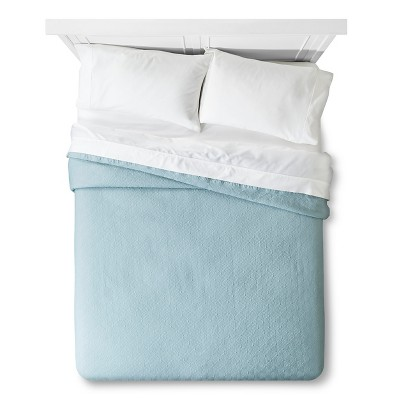 Matelasse Coverlete King - Aqua - Fieldcrest™